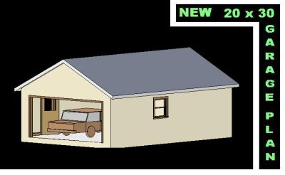 Free shed plans 20 x 30 signs wood shed for 20x30 garage plans